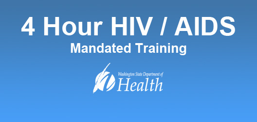 4 Hour HIV/AIDS Mandated Training