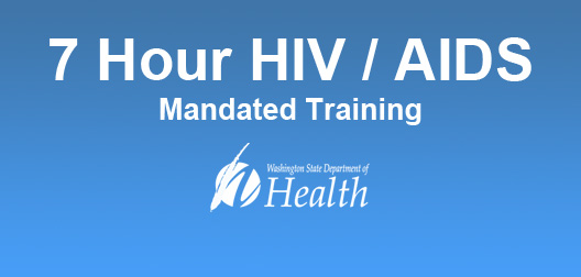 7 Hour HIV/AIDS Mandated Training